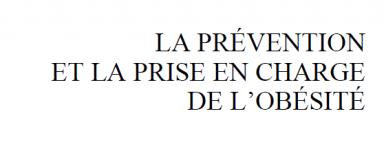 Rapport de la cours des comptes sur a prévention et la prise en charge de l'obésité